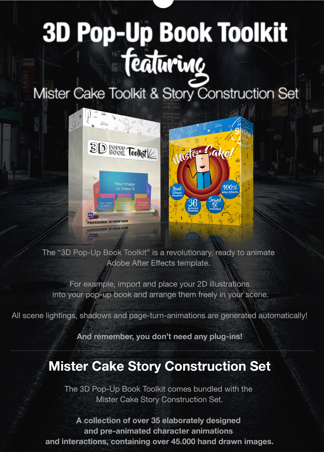 3d pop up book toolkit featuring mister cake toolkit story
